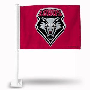 Car Flag New Mexico Lobos - FG440102