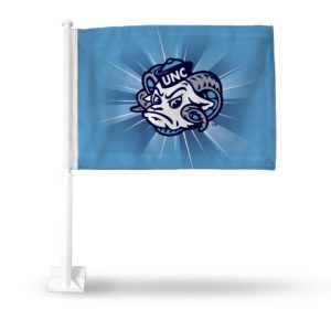 CarFlag North Carolina Tar Heels - FG130121