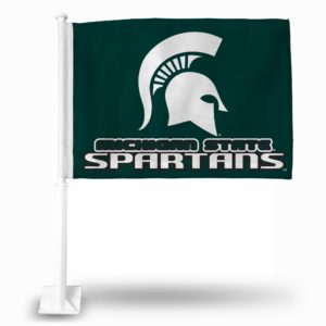 Car Flag Michigan State Spartans - FG220103