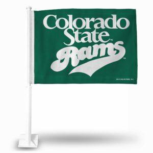 Car Flag Colorado State Rams - FG500202