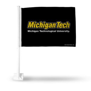 Car Flag Michigan Tech Huskies - FG220702