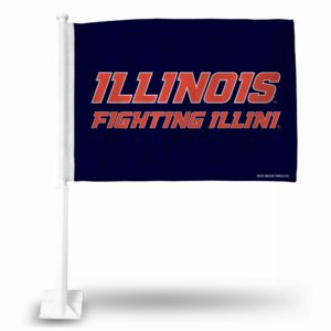 CarFlag Illinois Fighting Illini - FG400105