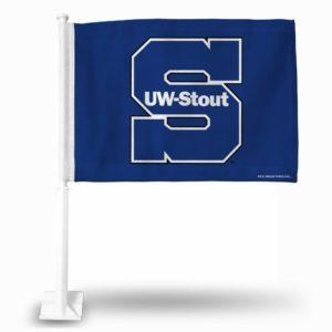CarFlag Wisconsin-Stout Blue Devils - FG451001