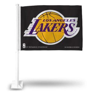 Car Flag Los Angeles Lakers FG82003