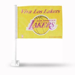 Car Flag Los Angeles Lakers - FG82020VIV