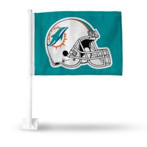 Car Flag Miami Dolphins - FG1112