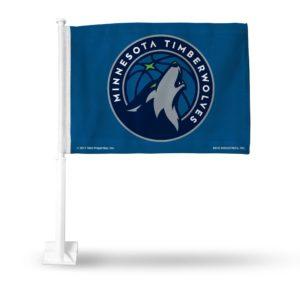 Car Flag Minnesota Timberwolves - FG94004