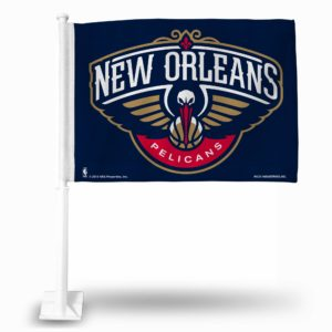 Official Licensed Nba New Orleans Pelicans Car Flag