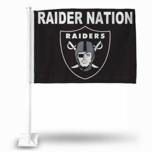 Car Flag Oakland Raiders - FG1707RN