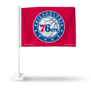 Car Flag Philadelphia 76ers - FG90004