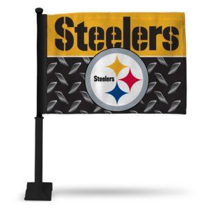 Car Flag Pittsburgh Steelers - FGK2301