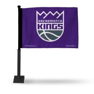 Car Flag Sacramento Kings - FGK80002
