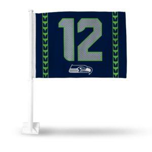 Car Flag Seattle Seahawks - FG2910-16