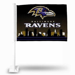 Car Flags Baltimore Ravens - FG0703